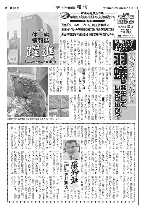 月刊住宅情報誌2013年6月